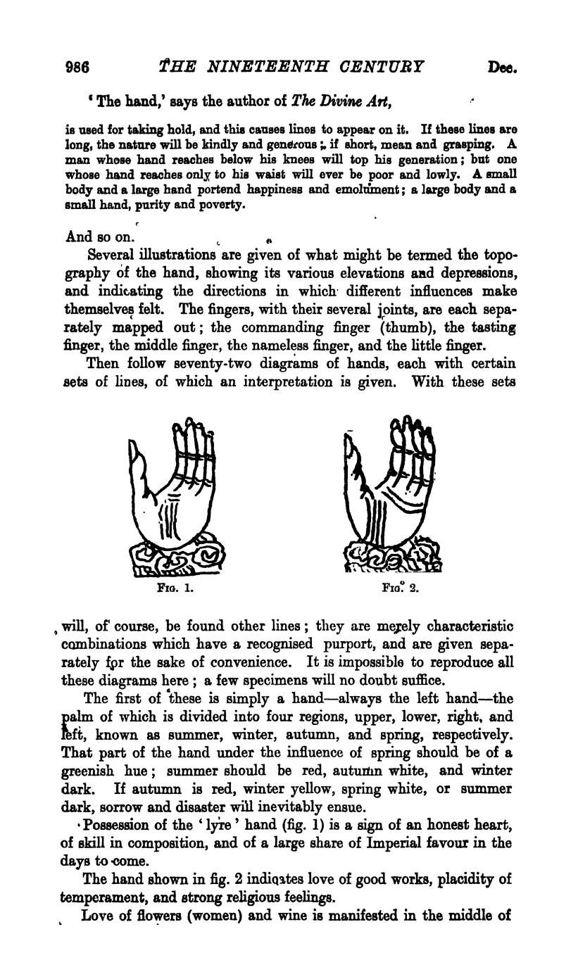 Herbert Giles - Palmistry in China 212