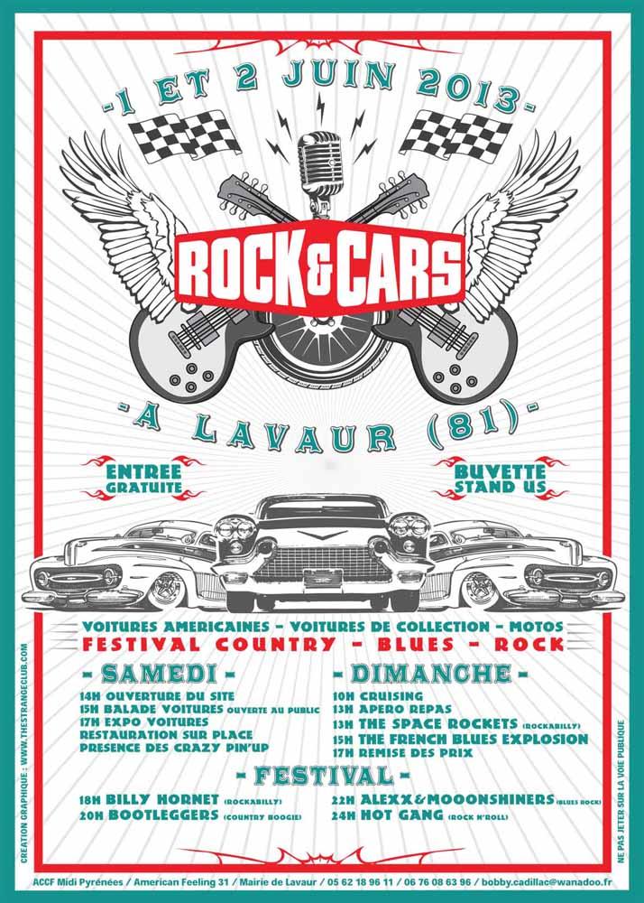 MANIFESTATION - 1 et 2 juin 2013 Lavaur (81) - ROCK AND CARS Flyer_10
