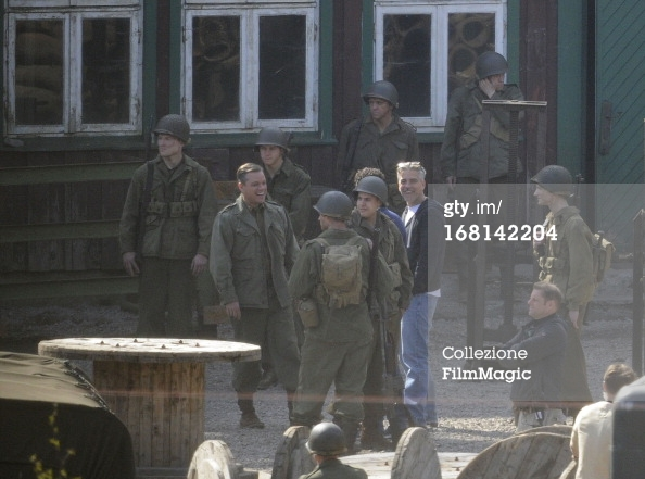 Photos: George Clooney filming in Bad Grund, Germany on his birthday (6th May 2013) Bad_gr10