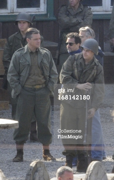 Photos: George Clooney filming in Bad Grund, Germany on his birthday (6th May 2013) Bad_gr11