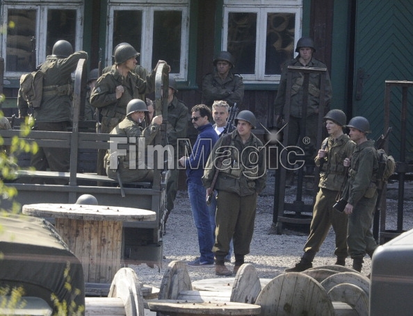 Photos: George Clooney filming in Bad Grund, Germany on his birthday (6th May 2013) Bad_gr12