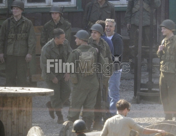 Photos: George Clooney filming in Bad Grund, Germany on his birthday (6th May 2013) Bad_gr13