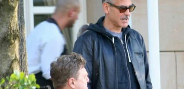 Photo: George Clooney holds BBQ and left Germany today Bbq_610
