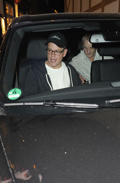 Photos: George Clooney's birthday dinner with Matt Damon, Bill Murray and Grant Heslov Birthd15