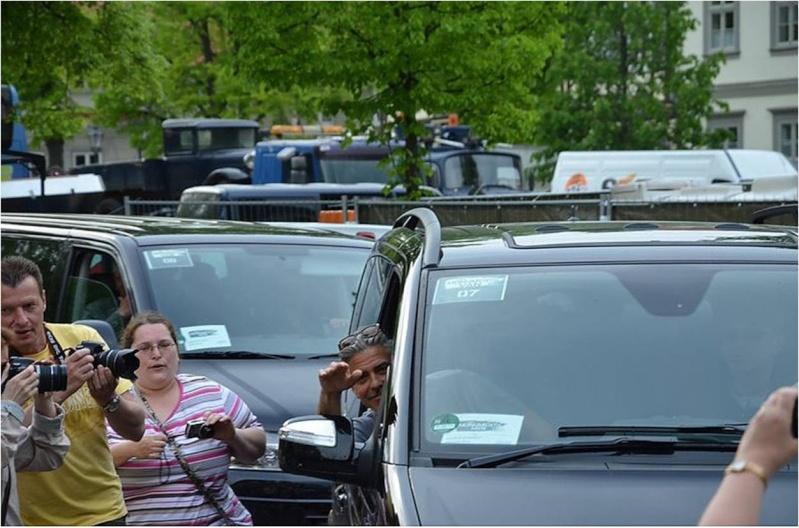 George Clooney in Halberstadt May 17, 2013 Filmin11