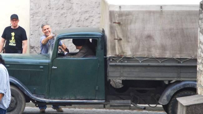 George Clooney in Halberstadt May 17, 2013 Filmin12