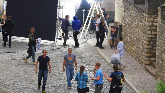 George Clooney in Halberstadt May 17, 2013 Filmin13