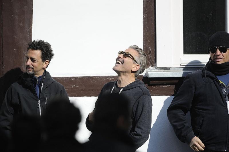 Photos: George Clooney filming in Goslar, Germany Goslar16