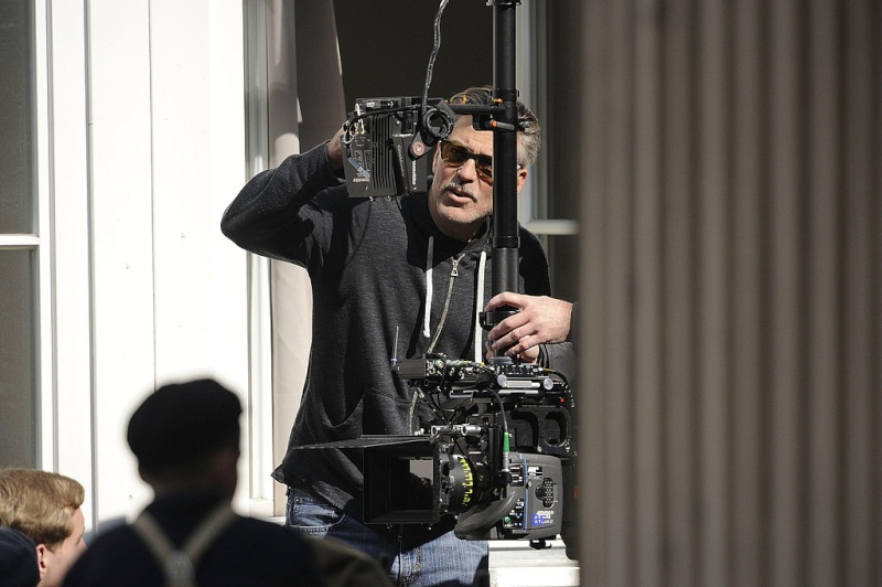 Photos: George Clooney filming in Goslar, Germany Goslar17
