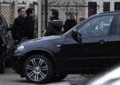 Photos: George Clooney filming in Ilsenburg, Germany Ilsenb12