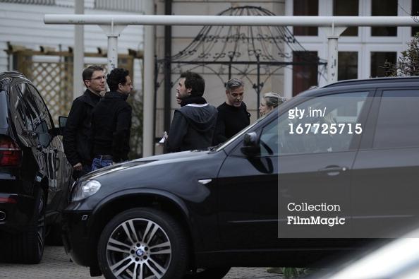 Photos: George Clooney filming in Ilsenburg, Germany Ilsenb14
