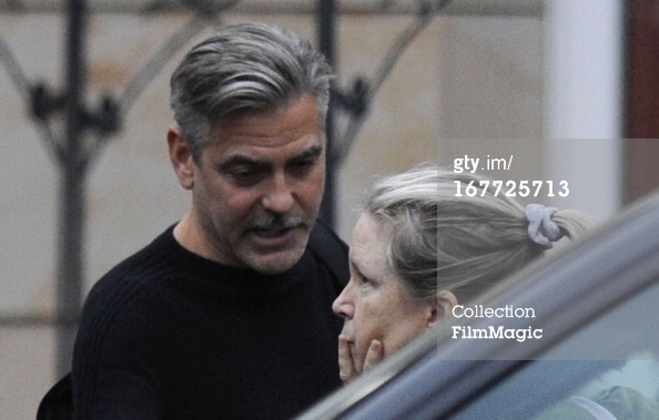 Photos: George Clooney filming in Ilsenburg, Germany Ilsenb15