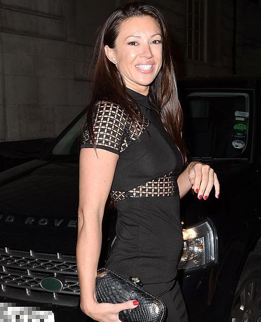 Photos: George Clooney leaving Lolou nightclub,  London.  Did Monica Jakisic follow him home? Loulou10