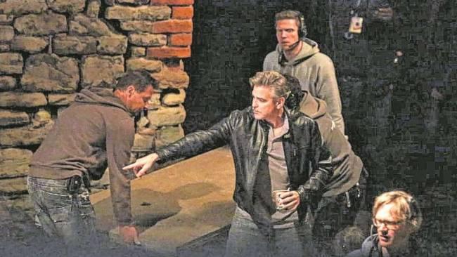 Photos and videos: George Clooney filming in Merseburg Merseb20