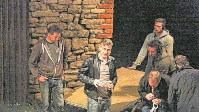 Photos and videos: George Clooney filming in Merseburg Merseb21