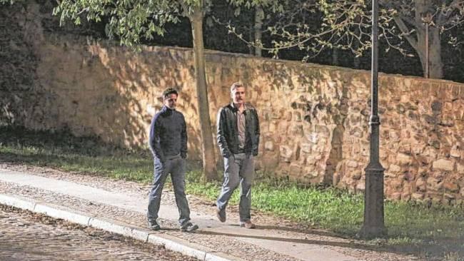 Photos and videos: George Clooney filming in Merseburg Merseb24