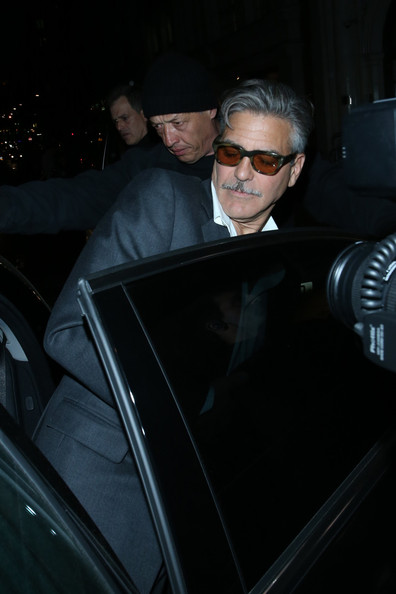 Photos: George Clooney in London May 23, 2013 Nobu_115