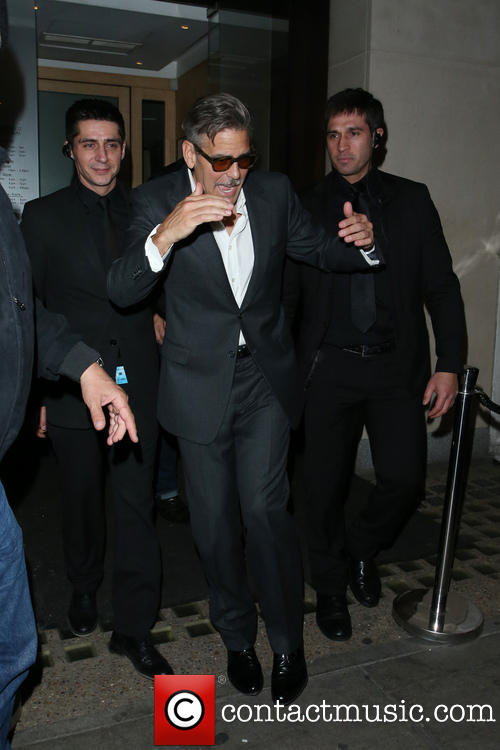 Photos: George Clooney in London May 23, 2013 Nobu_610