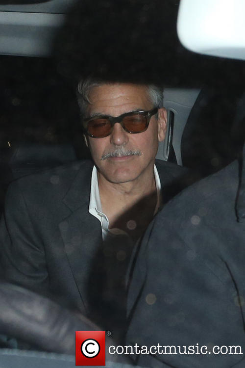 Photos: George Clooney in London May 23, 2013 Nobu_910
