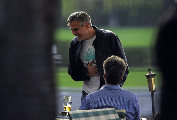 George Clooney and Matt Damon 5-05-2013 With_m12