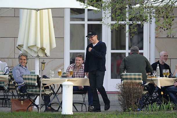 George Clooney and Matt Damon 5-05-2013 With_m13