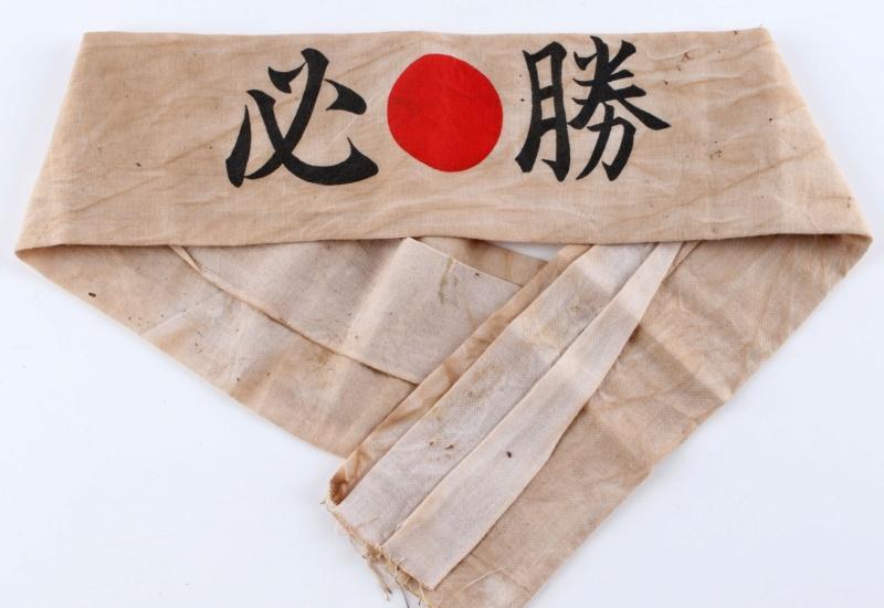 Authentification Hachimaki Japon ww2 111