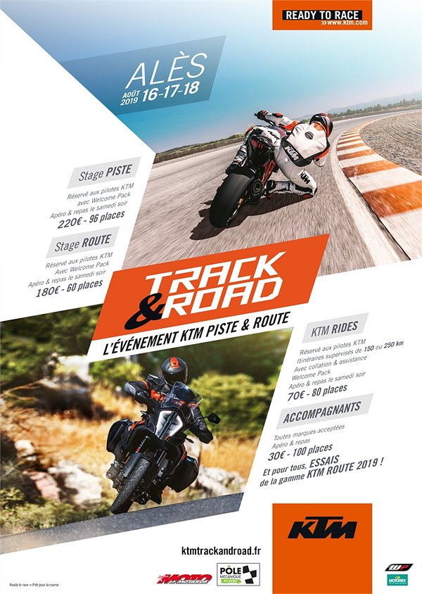 Alès 16/17/18 Aoùt 2019 Évènement KTM Track and Road 02-16-10