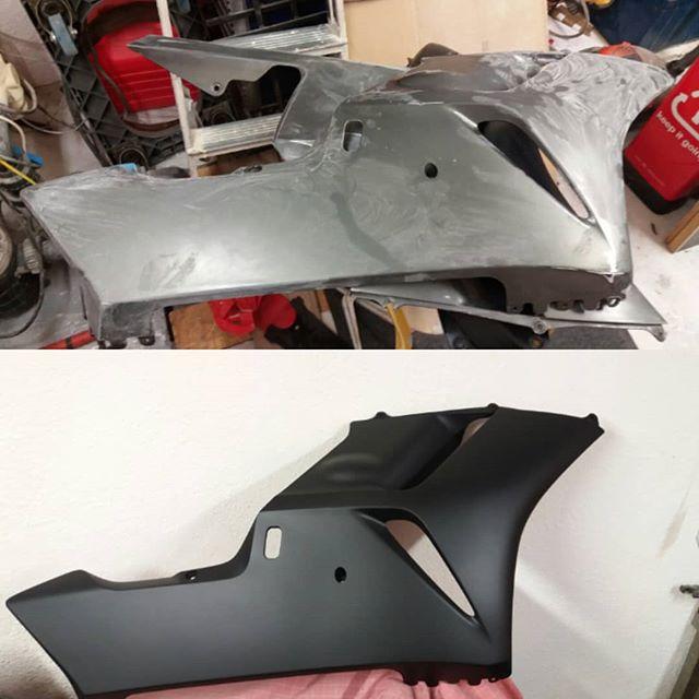 [TUTO REDMAN] Aérosol Montana pour peinture complète sur carénage Polyester brut 42003911
