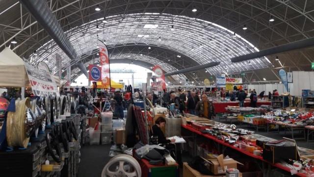 """[Evenement] """"Mostra Scambio"""" marché de motos et pièces près de Milan en Italie 46076510"""