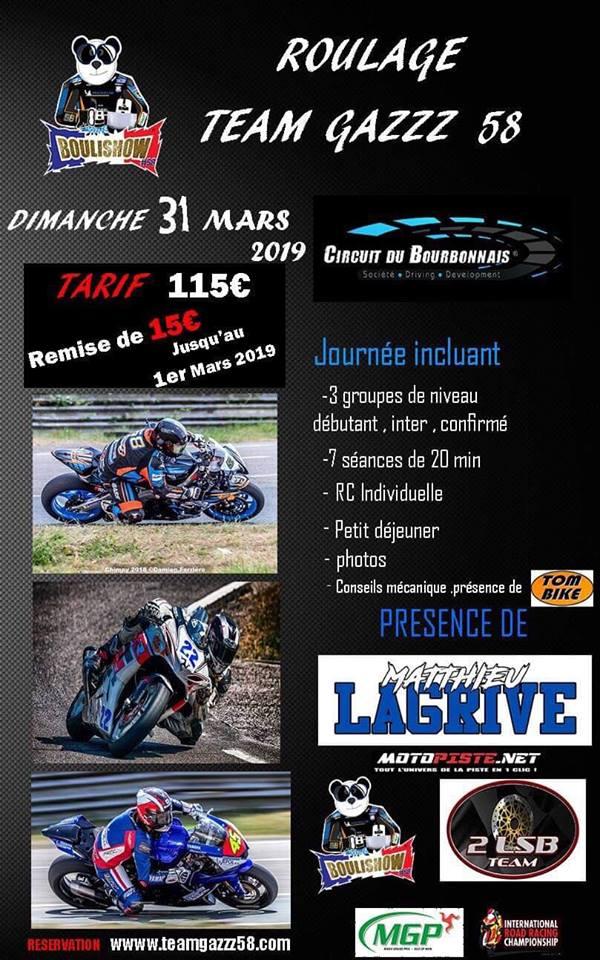 Dimanche 31 Mars circuit du Bourbonnais : Soutenons BouliShow !!! 48355810