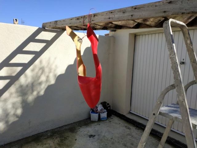 [TUTO REDMAN] Aérosol Montana pour peinture complète sur carénage Polyester brut 52498810