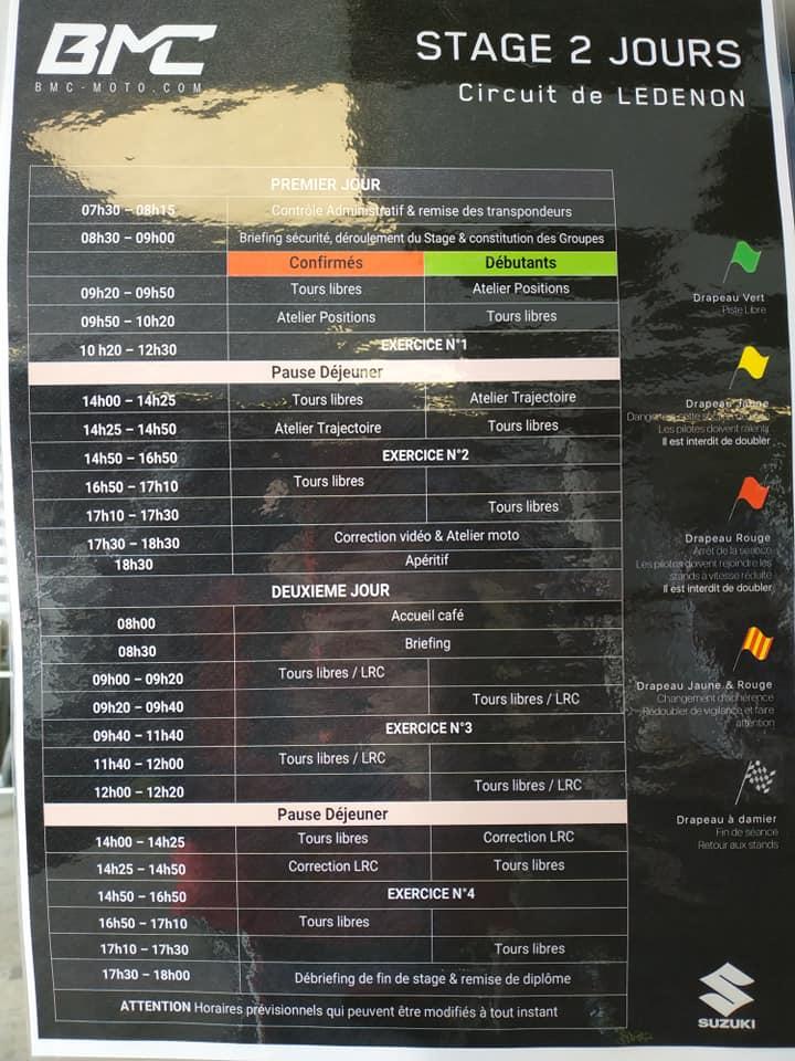 Stage BMC à LEDENON les 09 et 10 Avril 2019 : Motopiste y était ! et on s'en rappellera !  REDMAN CrashTest inside ! 56815910