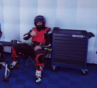Mon PREMIER DEPART EN COURSE en 1000 cm3 : MOTOPISTE.NET au Trophée de Ledenon par Laspi RACING 68571910