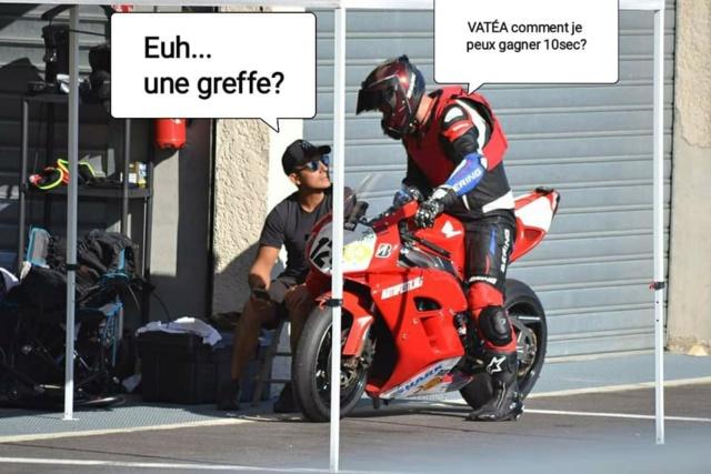 Chute au circuit de LEDENON : Déclenchement du Gilet Airbag et impact : Merci à mon matériel de protection !!! 72064710