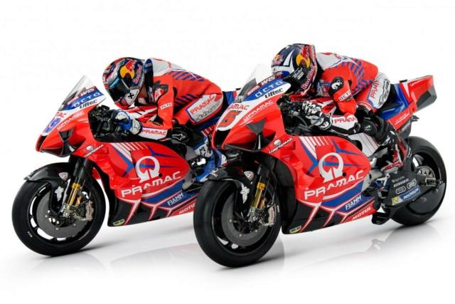 Présentation de la Ducati PRAMAC 2021 _8507810