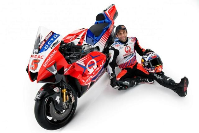 Présentation de la Ducati PRAMAC 2021 _8507910