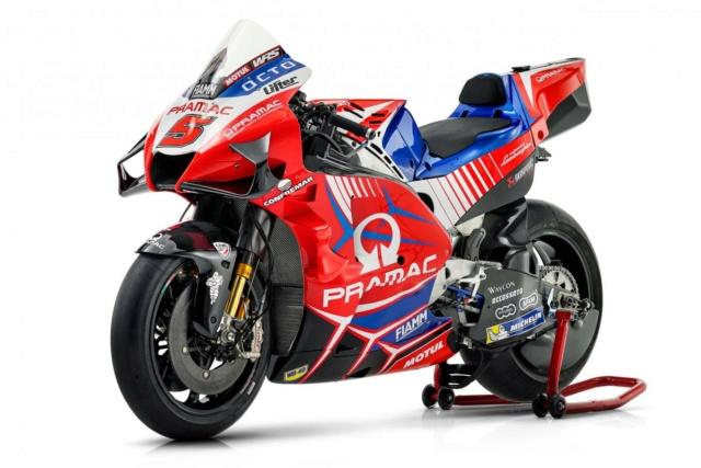 Présentation de la Ducati PRAMAC 2021 _ax73610