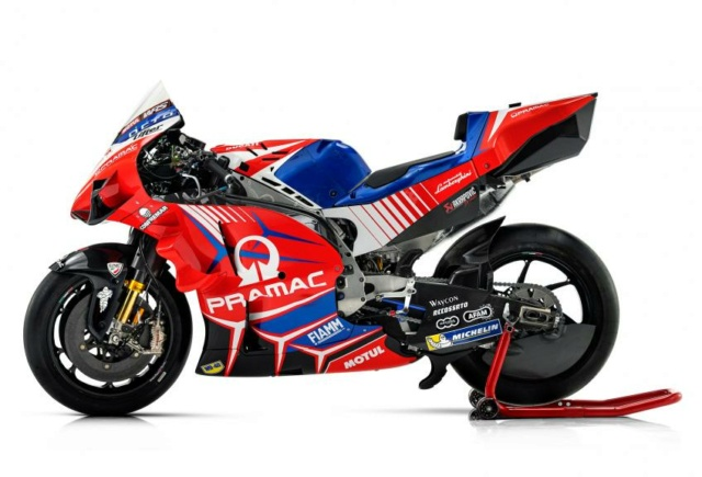 Présentation de la Ducati PRAMAC 2021 _ax73611