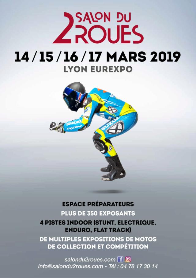 Le Salon du 2 Roues de Lyon du 14 au 17 mars 2019 à Eurexpo Affich10