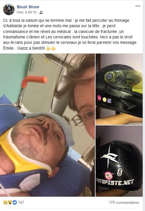Message de soutien à BOULISHOW qui a eu un accident à l'UltimateCup Boulis10