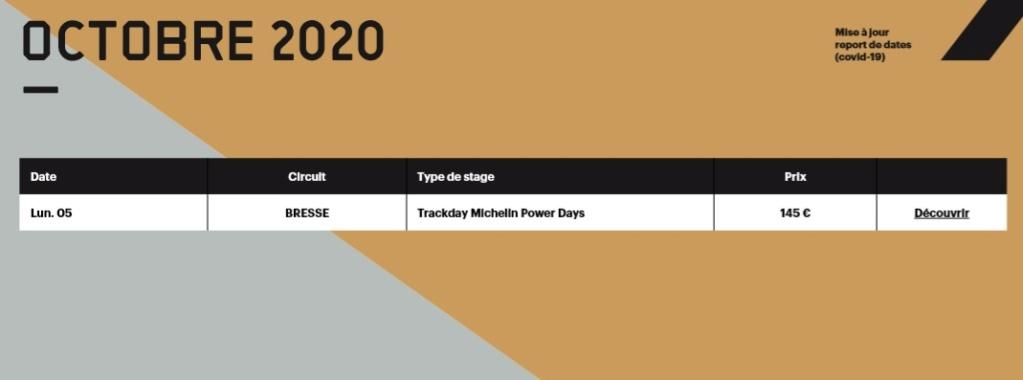 Calendrier roulages BMC 2020 Mis à jour le 16/05/2020 Calend22