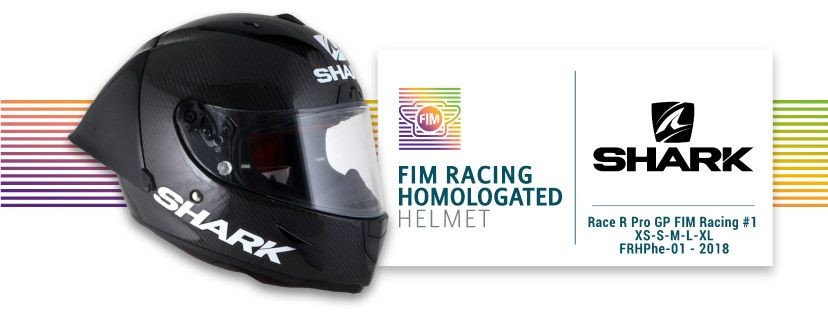 [INFO] SHARK présente le premier casque homologué FIM pour la compétition Casque12