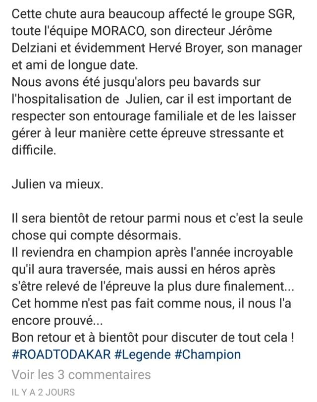 [Dakar] le pilote Julien Toniutti dans le coma Img_2030
