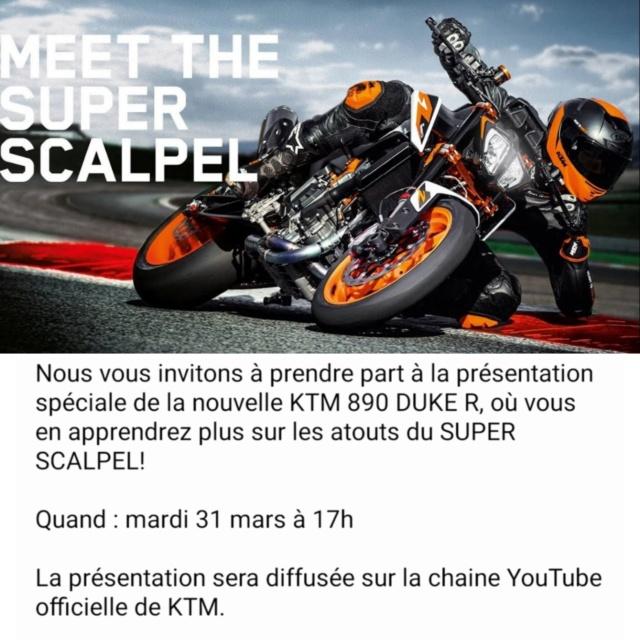 Présentation de la KTM DUKE 890 R sur Youtube Mardi 31 Mars 17h00 Img_2666
