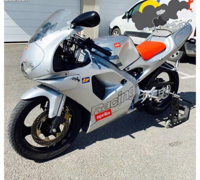 L'Aprilia RS50... Retour vers le futur... Img_2675