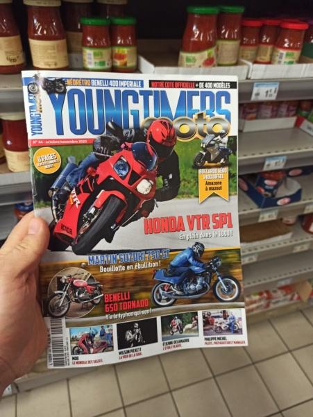 La VTR SP1 en couverture du Magazine Youngtimers moto Img_2913