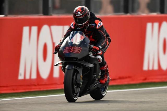 Les livrées des MotoGP en test à Valence : décos et résultats Lorenz10