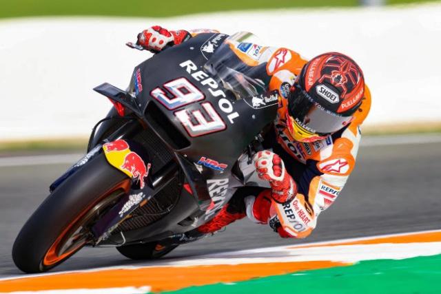Les livrées des MotoGP en test à Valence : décos et résultats Marque10