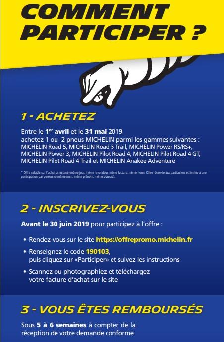 Promo pneus MICHELIN mois de Mai ! Michel13