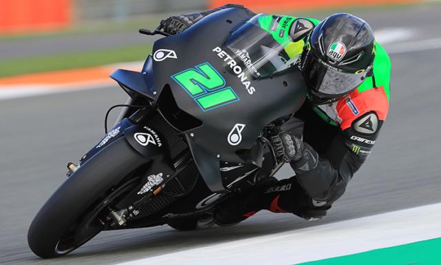 Les livrées des MotoGP en test à Valence : décos et résultats Morbid10
